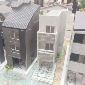 超狭小住宅 ハナヒヨ BLISS 建設
