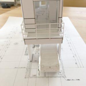 狭小住宅7坪住宅模型